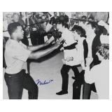 MUHAMMAD ALI, Signed Photo w BEATLES