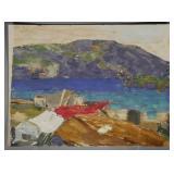 JAY CONNAWAY, Oil on Canvas, Seascape