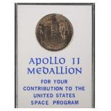 APOLLO 11 Coin SPACE FLOWN
