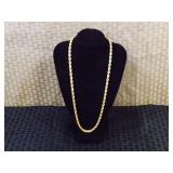 "14k Gold Italian 18"" Inch Necklace"