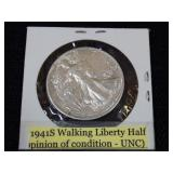1941 Walking Liberty Half Dollar