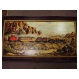 Wells Fargo Train Print