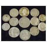 Assorted Coins Grouping