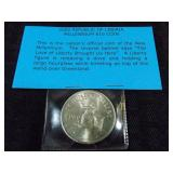 Republic of Liberia Millennium $10.00 Coin