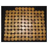 (113) Wheat Pennies Grouping
