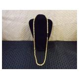 "14k Gold Italian 28"" Inch Necklace"