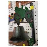(2) Cast Iron Bells