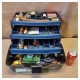 Fishing Tackle Box w/ Fishing Accessories