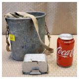 Galvanized Minnow Bucket