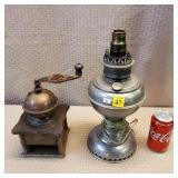 Coffee Grinder & Electric Lamp