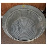 Galvanized Ash Bucket