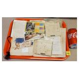 Lot of Post Cards & Ephemera