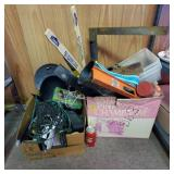 (2) Box Lots of Tools & Household Items