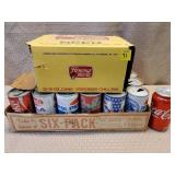 Lot of Beer & Soda Cans