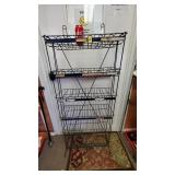 Commercial Metal Paint Can Rack