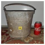 Galvanized Metal Bucket #10