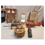 Lot of Wooden Decor