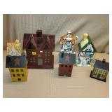 Lot of Assorted Decorative Houses