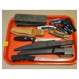Fishing Fillet Knives, Pocket Knives, Sharpening