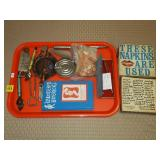 Tray Lot of Advertising Bottle Openers,