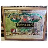 Large Heineken Mirror