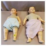 2 Vintage Dolls