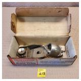 Craftsman Block Plane w/ orginal box