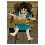 Doll & High Chair