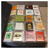 Album Filled with Matchbooks