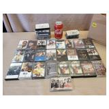 Large Lot of Assorted Cassettes