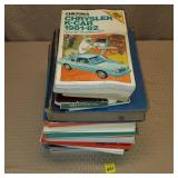 Lot of Car Repair Books & Manuals.