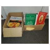 2 Boxes of Cook Books