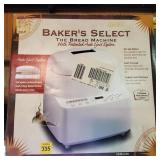 Bakers Select The Bread Machine