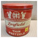 Layfield Thin Pretzel Tin