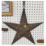 Metal Star Wall Decorative