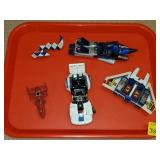 Tray of Transformers Toys