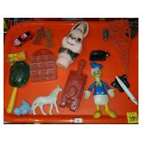 Tray Lot of Assorted Toys