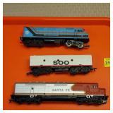 HO Train Santa Fe 1456, Regional Transportation