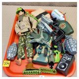 GI Joe Action Figure w/ Assorted Military Toys