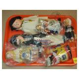 Lot of Assorted European Dolls