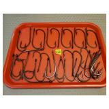 Lot of G Mustad & Sons Norway Fishing Hooks