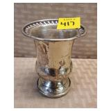 Sterling Weighted Goblet