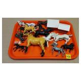 Toy Horses Lot