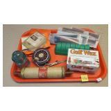 Fishing Reel, Film, Wax, Insulator,