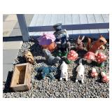 Lot of Assorted Yard Decorations