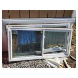 2 Vinyl Windows Double Panel Glass