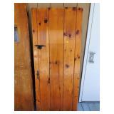 Naughty Pine Tongue & Groove Door