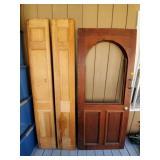 Lot of Assorted Doors