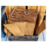 Crate of Cedar Wood Shingles