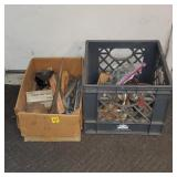 2 Boxes of Hardware & Tools